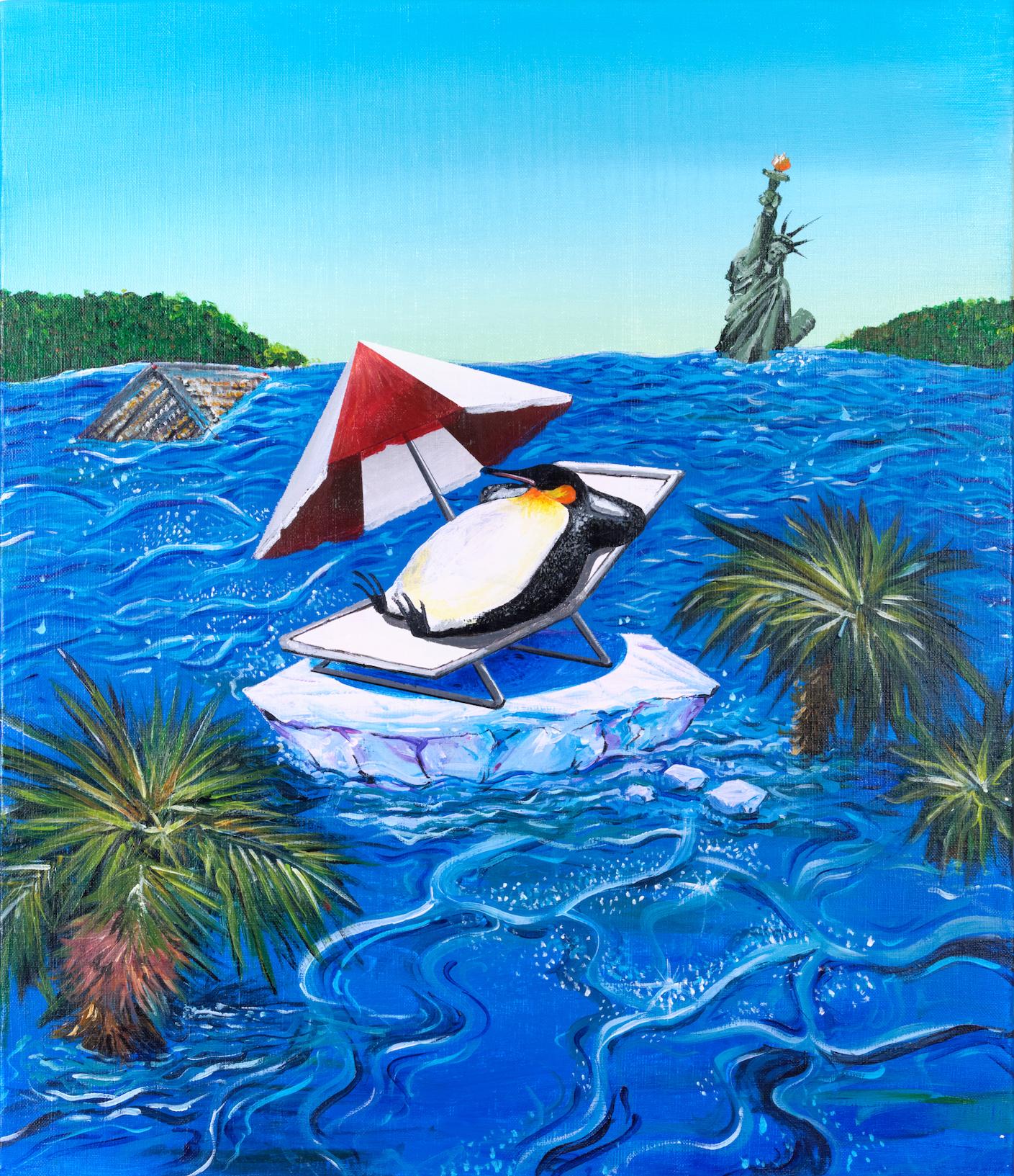 Penguin On The Last Ice